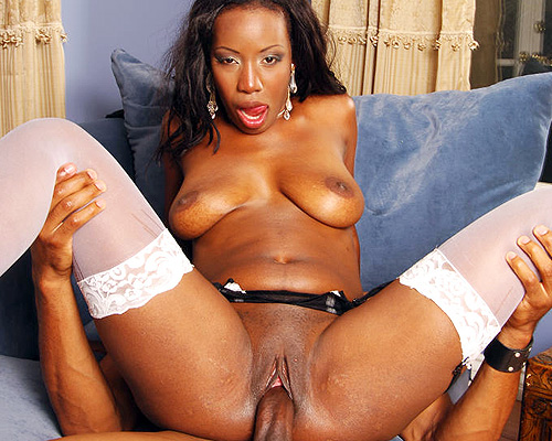 Lady Armani Riding a Huge Meat